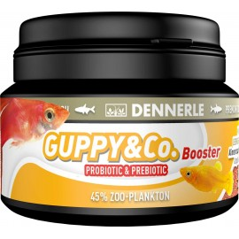 DENNERLE - GUPPY & Co Booster 100ml (42gr) GRANULATO - Mangime per GUPPY, PLATY e Molly d'Acquario Dolce