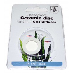 Tropica Ceramic Disc for CO2 3 in 1 Diffuser - Pietra porosa per Diffusore CO2  Tropica
